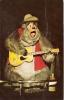"DISNEYWORLD THE COUNTRY BEAR JAMBOREE. ""BIG AL"". CREEPY. UNCIRCULATED. GECKO - Disneyworld"
