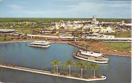 DISNEYWORLD THE MAGIC KINGDOM. WONDERFUL VIEW PANORAMA.  UNCIRCULATED. GECKO - Disneyworld
