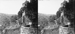 PN 0202 - LOT - MONTVALENT - Eglise Et Cimetière - Diapositivas De Vidrio