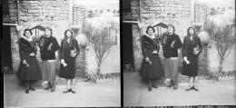 PN 0226 - VIENNE - POITIERS - Jeunes Femmes - Plaques De Verre