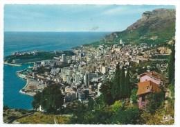 PRINCIPAUTE DE MONACO -MONTE CARLO -LE ROCHER ET LA TETE DE CHIEN -Circulé 1965 - Monaco
