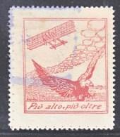 ITALY  AAMC  17b  VIGNETTE  AEROPHILATELIC   PATRIOTIC  WW I  PRO  FLOTTA  AEREA  * - 1900-44 Vittorio Emanuele III