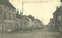 71  NANTON - PLACE ET ROUTE DE LAIVES (ref 14957) - Frankreich