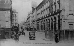 La Rue Du Pré Botté Et La Poste - Rennes