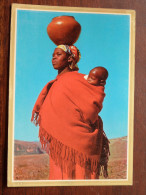 WOMAN And CHILD / Anno 1970 ( Zie/voir Foto Voor Details ) !! - Lesotho