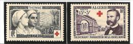 AU PROFIT DE LA CROIX ROUGE  N° 316*  à  317*  Charnière - Unused Stamps