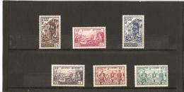 AU PROFIT DES SINISTRES D'ORLEANVILLE  N° 319*  à  324* Charnière - Unused Stamps