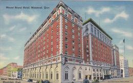 CANADA - MONTREAL -MOUNT ROYAL HOTEL - Quebec