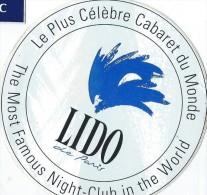 Cabaret/ LIDO de Oaris / The Most Famous Night-Club in the World/ Ann�es 1980    ACOL20