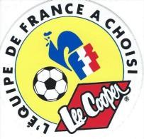 Sport / Foot/Equipe de france/ Lee Cooper / Ann�es 1980    ACOL21