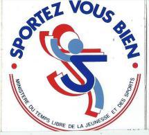 Sport/ Minist�re du Temps Libre de la Jeunesse et des Sports/ Ann�es 1980    ACOL23