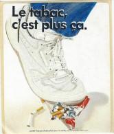 Sant� /Tabac/ Le Tabac c'est plus �a / Comit� Fran�ais d'Education pour la sant�/Ann�es 1980    ACOL24