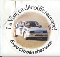 Automobile / Citro�n/ La VISA �a d�coiffe sauvage /Expo Citro�n chez vous /Ann�es 1980    ACOL25