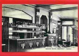 RODEZ GRAND HOTEL BROUSSY LE BAR CARTE PUBLICITAIRE VERS 1920 CARTE EN SUPERBE ETAT - Rodez
