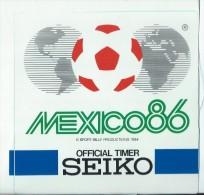 Sport / Foot/ Mexico 86/Official Timer SEIKO /Ann�es 1980    ACOL25