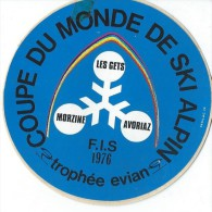 Sport/SKI/ Coupe du Monde de Ski Alpin /Morzine- Les Gets- Avoriaz/ troph�e EVIAN/FIS/ 1976     ACOL29