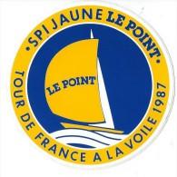 Sport/Voile/ Tour de France � la Voile/ Le Point /Ann�es 1980  ACOL30