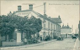 """77 CHARTRETTES / L'Hôtel-Restaurant """"Au Grillon Du Foyer"""" / - Autres Communes"""