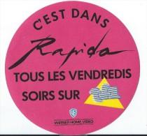 Radio-Tele/ C'est dans Rapido tous les soirs sur TF1/ Warner Home Vid�o /Ann�es 1980  ACOL32