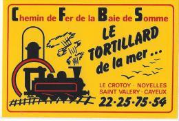Loisirs / Chemin de Fer de la Baie de Somme / Le tortillard de la Mer/ Le Crotoy-Noyelles-saint Va  /Ann�es 1980  ACOL34