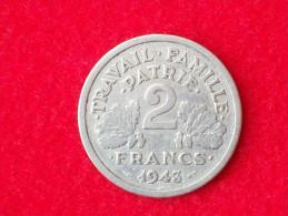 MONETA DA 2 FRANCHI Del 1943 - I. 2 Francs