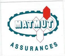 Assurances / MATMUT/Années 1980  ACOL36 - Stickers