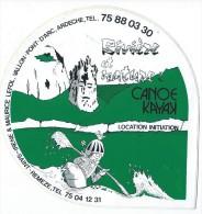 Loisirs/Sports/Cano� Kayak /Rivi�re et Nature/ Vallon-Pont d'Arc/Saint Rem�ze/ Ard�che / Ann�es 1980     ACOL41