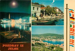 Jelse, Slovenia Postcard Used Posted To UK 1970s Stamp - Slovenia