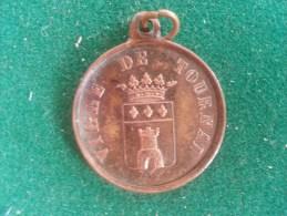 Ville De Tournai, Concours De Chant, Festival, 1855, 4 Gram (medailles0180) - Autres
