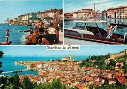 Piran, Slovenia Postcard Used Posted To UK 1972 Stamp - Slovenia