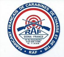 Sport/Tir/ RAF/Sidna France/ Fabricant fran�ais de carabines de chasse et de tir / Ann�es 1980     ACOL42