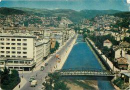 The River, Sarajevo, Bosnia Postcard Used Posted To UK - Bosnia And Herzegovina