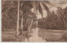 Sumatra. Serdang Rivier. - Indonésie