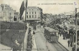 85 LES SABLES D´OLONNE - Vue Générale Du Remblai - Tramways - Sables D'Olonne