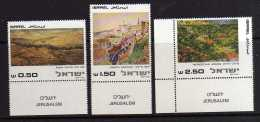 Israel - 1981 - Paintings Of Jerusalem - MNH - Neufs (avec Tabs)
