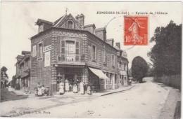 Cpa 76 Jumièges  épicerie De L'abbaye - Jumieges