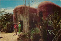 Amboseli Serena Lodge Hotel, Kenya Postcard Used Posted To UK 1990 Nice Stamp - Kenya