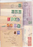 Collection Lettres Type Iris 14 Lettres - Frankreich