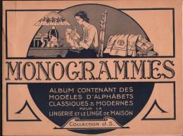 Album Broderie  MONOGRAMMES, ALPHABETS - Collection J.S. - Fashion