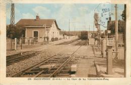 Saint Prest (28) La Gare - France