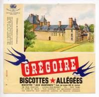 Buvard - Biscottes Allégées Grégoire - Château De Kerjean - Zwieback