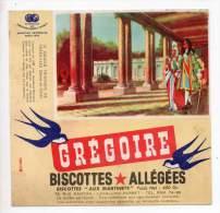 Buvard - Biscottes Allégées Grégoire - Le Grand Trianon De Versailles - Zwieback