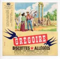 Buvard - Biscottes Allégées Grégoire - Le Théatre Antique D'Arles - Zwieback