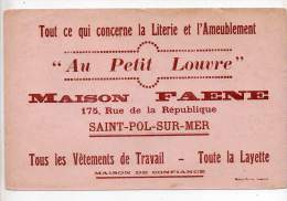 Buvard - Maison Faene, Au Petit Louvre, Literie Et Ameublement - Buvards, Protège-cahiers Illustrés