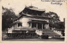 CAMBODGE / CARTE PHOTO TOMBEAU DES ANCETRES - Cambodia