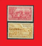 Samoa 1952,  Coconut Coprah, Copra,  Noix De Coco / Cacao MNH ** - Végétaux