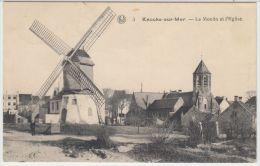 22095g MOULIN - EGLISE - Knocke-sur-Mer - Knokke