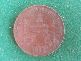 Exposition Universelle D'Anvers, 1885 (L. Wiener), 10 Gram (medailles0200) - België