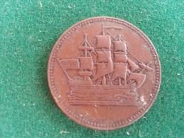 Prince Edward Island, Ships Colonies & Commerce Token, 5 Gram (medailles0212) - Entriegelungschips Und Medaillen