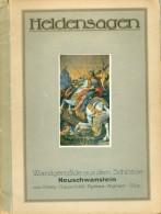 Piloty, Hauschild U.a.: Heldensagen Wandgemälde Aus Dem Schloss Neuschwanstein Gesellschaft Für Farbenphotographie Münch - Bücher, Zeitschriften, Comics